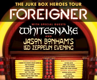 Foreigner, Whitesnake, J.Bonham's Led Zeppelin Evening @ Riverbend Music Center | Cincinnati | Ohio | United States