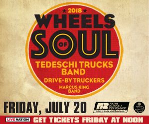 Tedeschi Trucks Band: Wheel of Soul 2018 @ Farm Bureau Insurance Lawn at White River State Park | Indianapolis | Indiana | United States