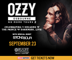 OZZY OSBOURNE: No More Tours 2 @ Ruoff Home Mortgage Music Center | Noblesville | Indiana | United States