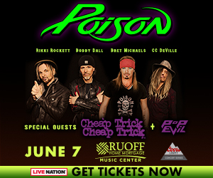 Poison/Cheap Trick @ Ruoff Home Mortgage Music Center | Noblesville | Indiana | United States