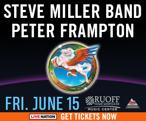 Steve Miller Band and Peter Frampton @ Ruoff Home Mortgage Music Center | Noblesville | Indiana | United States