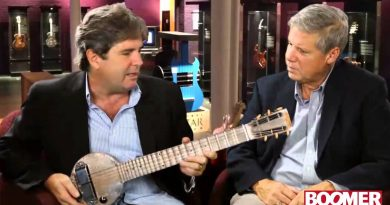 Check out the First Ever Electric Guitar in Action