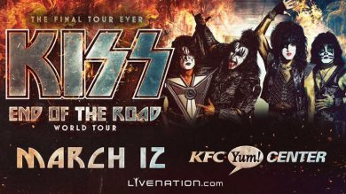 KISS - End Of The Road World Tour @ KFC Yum! Center | Louisville | Kentucky | United States