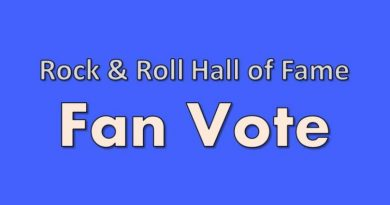 Rock & Roll Hall of Fame Fan Vote