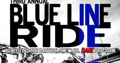 3rd Annual Blue Line Ride