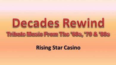Decades Rewind - Tribute Music From The '60s, '70 & '80s @ Rising Star Casino