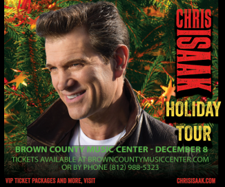 CHRIS ISAAK @ Brown County Music Center