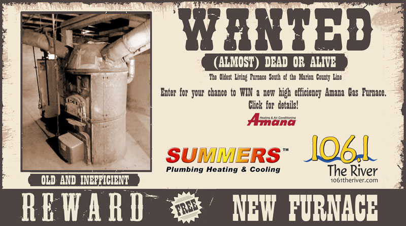 Summers Furnace Giveaway
