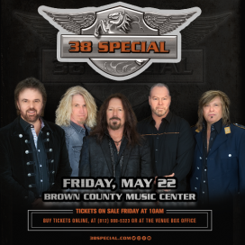 .38 SPECIAL @ Brown County Music Center