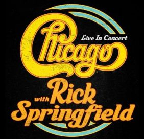 Chicago w/Rick Springfield - New Date - TBD @ Riverbend Music Center