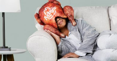 Arby's Has Released a Deep Fried Turkey Pillow That Goes Over Your Head