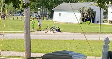 Feel Good Friday: Indiana boys hop off their bikes to pay respects after running into military veteran's funeral